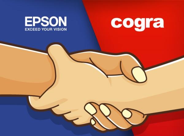 Parceria Epson + Cogra