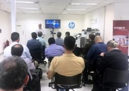 Inauguração do Cogra Experience Lounge by HP
