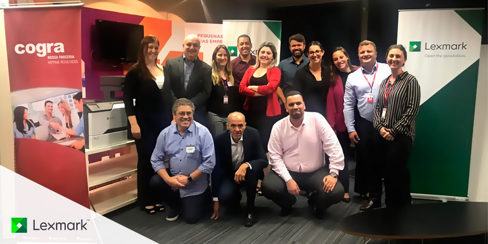 7º encontro de parceiros Lexmark e Cogra